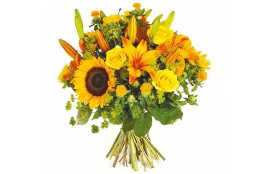 L'Agitateur Floral | Image de couverture bouquet de fleurs jaunes Soleil