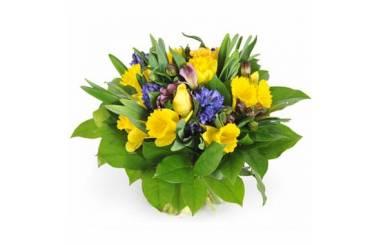 L'Agitateur Floral | image du Bouquet de fleurs de saison Mamina