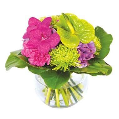 L'Agitateur Floral |image du bouquet de fleurs Boudoir