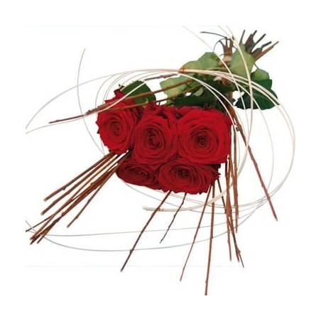L'Agitateur Floral | image du bouquet de roses rouges Magique