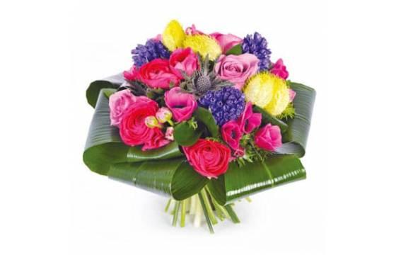 L'Agitateur Floral | image du Bouquet rond de saison Sarah