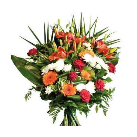 L'Agitateur Floral | image du bouquet de fleurs de deuil Voie Lactée