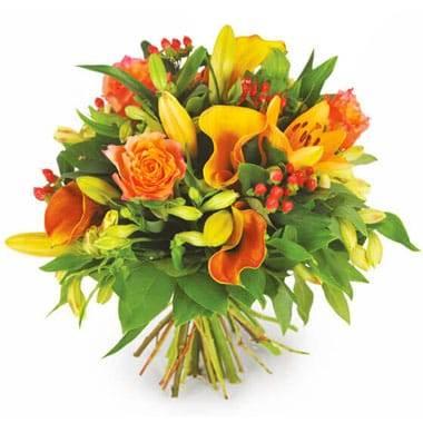L'Agitateur Floral |Image du Bouquet rond de fleurs Tonique