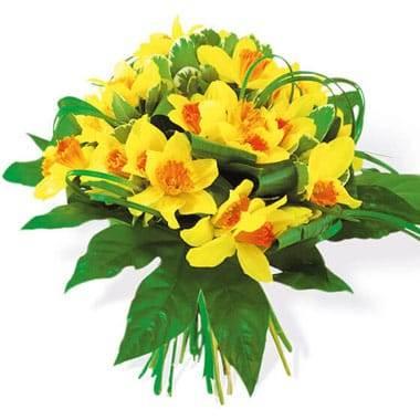 L'Agitateur Floral | image du Bouquet de Jonquilles Délice Printanier