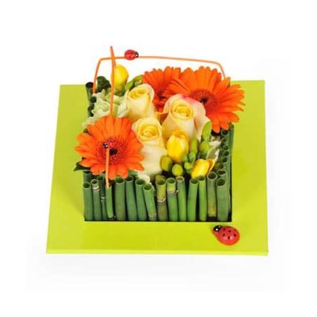 L'Agitateur Floral   Image de couverture composition carré Bilbao