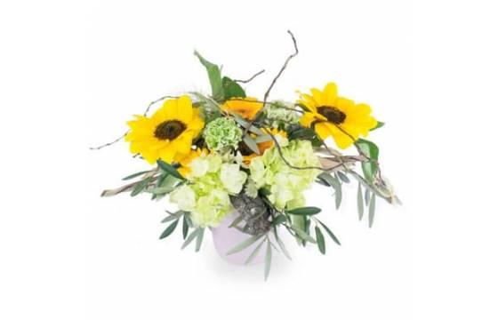 L'Agitateur Floral | Image principale composition Tournesol en folie