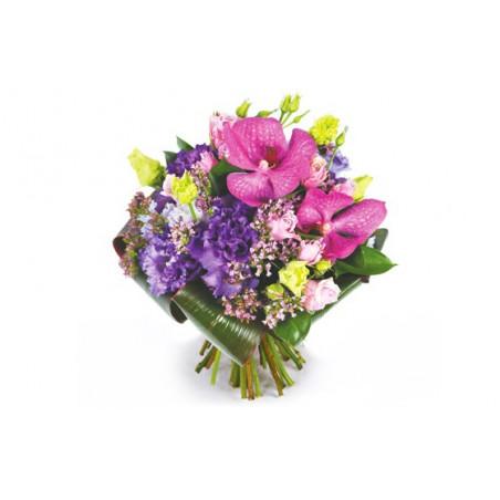 Image du bouquet rond de fleurs Perle d'O