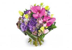 Bouquet rond Perle d