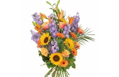 L'Agitateur Floral | image du bouquet de fleurs de deuil Horizon