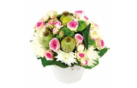 L'Agitateur Floral | Composition florale Love : image de la création