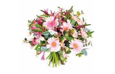 L'Agitateur Floral | Image du bouquet de fleurs rond Dédicace