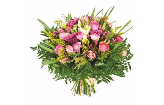 L'Agitateur Floral | image du Bouquet rond champêtre Bohème