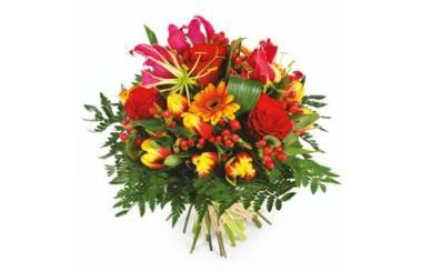 L'Agitateur Floral | image du Bouquet de fleurs multicolore Sensation