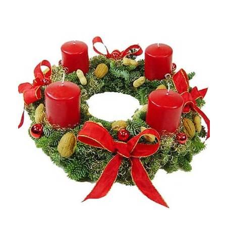 L'Agitateur Floral | image de la Couronne de Noël Des Fleurs à Moscou