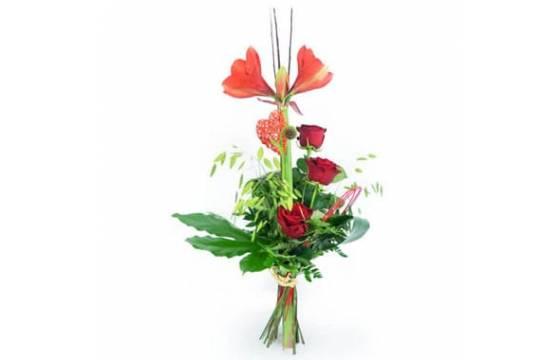 L'Agitateur Floral | image du Bouquet de fleurs Linéaire Isoline