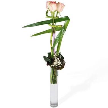 L'Agitateur Floral | image du bouquet linéaire de roses Comtesse