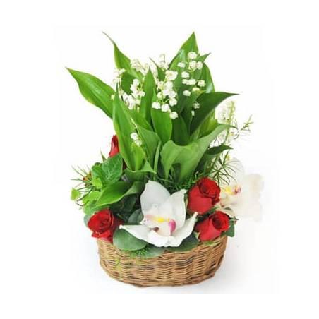 L'Agitateur Floral | image de la Composition de Muguet Prestige