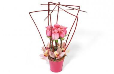 Image de la composition de fleurs Lady Rose