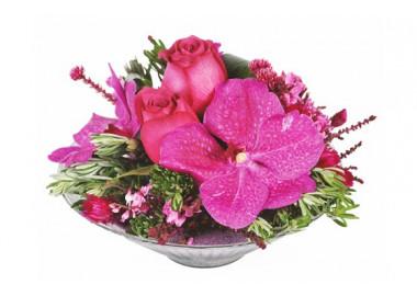 L'Agitateur Floral | image de la composition florale candy rose