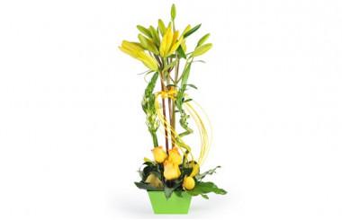Image de la composition de fleurs R^ve de Lys