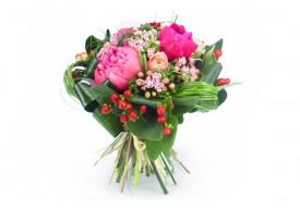Bouquet de fleurs Rose Pivoine