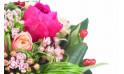 L'Agitateur Floral | vue sur le centre du bouquet de fleurs