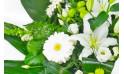 L'Agitateur Floral | vue sur les gerberas de la gerbe d'enterrement