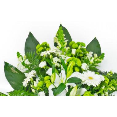 L'Agitateur Floral | zoom sur le haut de la gerbe de fleurs