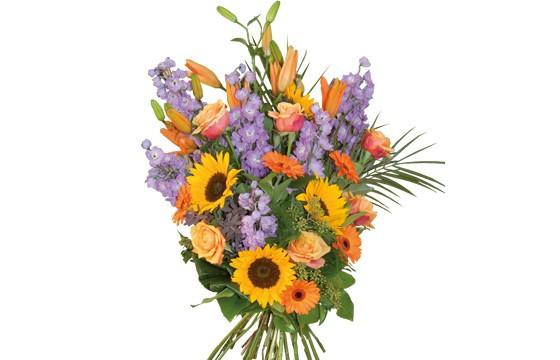 image du bouquet de fleurs de deuil Horizon