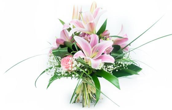 image du bouquet de fleurs Rosa Lys