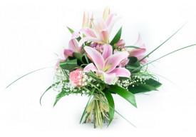 Bouquet de fleurs Rosa Lys