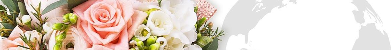 Livraisons de fleurs dans le monde entier, à l'internationnal