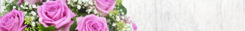 Livraison de roses roses, jaunes, oranges... par un artisan fleuriste