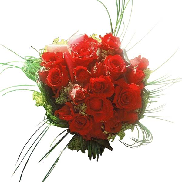 Bouquet de fleurs vertige de l'amour