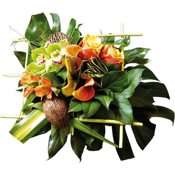 Bouquet de fleurs coco