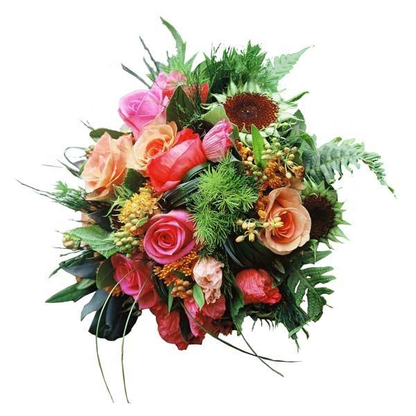 Bouquet de fleurs tendresse