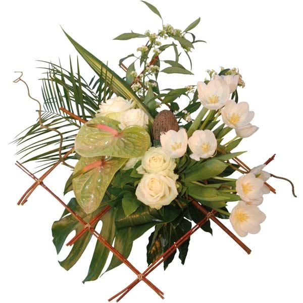 Bouquet de fleurs l'égérie