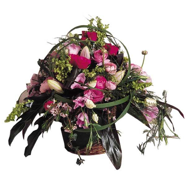 Composition de fleurs eclat floral