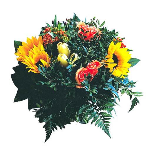Bouquet de tournesol clair de lune en fleurs - Bouquet de tournesol ...