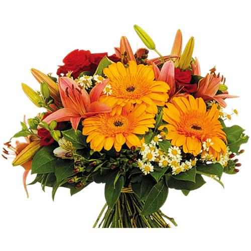 Livraison bouquet roses bouquet de fleurs enflamm for Livraison fleurs paypal