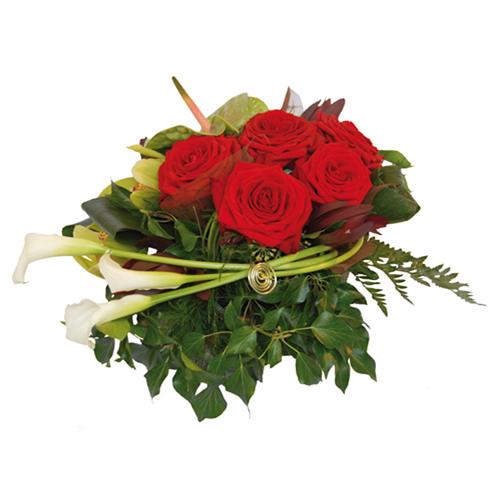 Achat composition de fleurs composition florale or for Composition florale