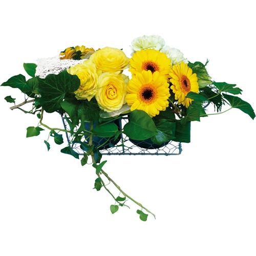 Livrer composition de fleurs corail for Livrer des fleurs demain