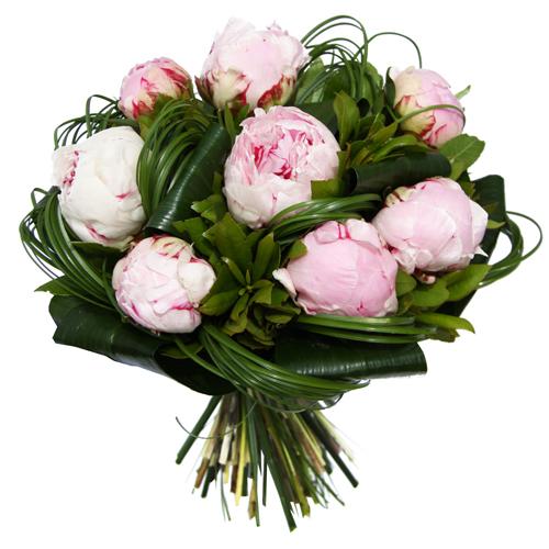 Livraison bouquet pour la f te des mamans pivoine - La poste mon espace client nouvelle livraison ...