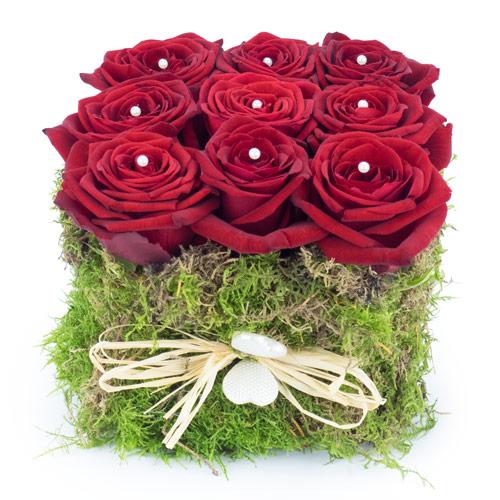 Carr roses rouges livraison fleurs st valentin for Livraison fleurs paypal