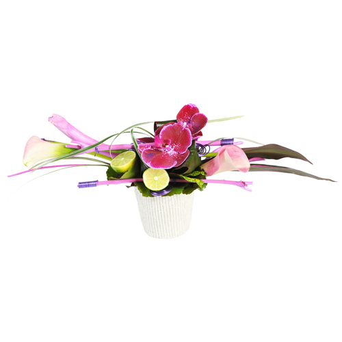 Composition de fleurs originale chrysalide - Composition florale de noel originale ...