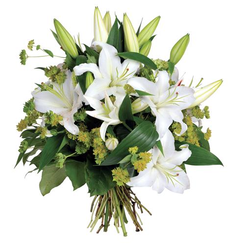 Votre livraison de fleurs reussie avec ce bouquet rond for Bouquet de fleurs un