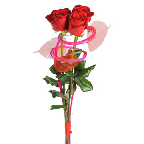 Livraison 3 roses rouges saint valentin ma princesse for Livraison rose