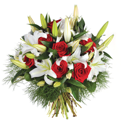 bouquet de fleurs deuil pas cher